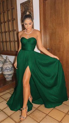 Emerald Green Bridesmaid Dresses, Satin Bridesmaid Dresses, Royal Blue Dresses, Wedding Dresses, Emerald Green Wedding Dress, Emerald Green Cocktail Dress, Slytherin, Gala Dresses, Formal Dresses