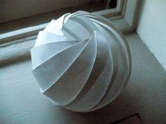 Paper folded Sphere