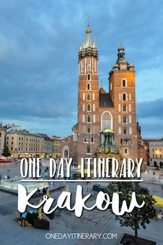 One Day in Krakow Itinerary - Top things to do in Krakow, Poland Europe Travel Tips, Travel Guides, Travel Destinations, Holiday Destinations, Travel List, Travel Deals, Travel Advice, European Destination, European Travel