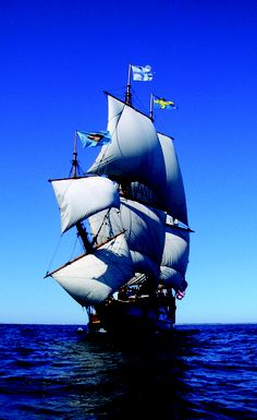 Take sail on the Kalmar Nyckel, the tall ship replica of Delaware.