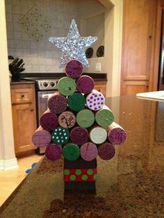 Cork Christmas tree. :) Photo - Lisa Manna | Lockerz