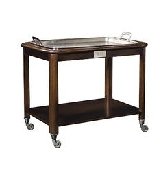 Hotel Trolley Serving Cart (only) from the Archive collection by Hickory Chair Furniture Co.