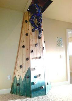 Indoor Kletterwand Boulderwand  Turnwand Klettern Kinder Ohne Klettergriffe