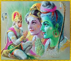 Hanuman pray to Lord Ram n Sita maa Shiva Art, Ganesha Art, Hindu Art, Hanuman Chalisa, Krishna Hindu, Lord Krishna Images, Radha Krishna Pictures, Shree Ram Images, Shri Ram Wallpaper