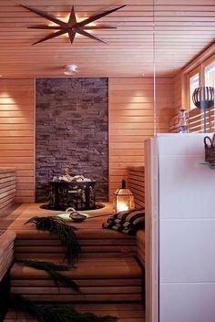 Just an awesome sauna design Pool Indoor, Indoor Sauna, Scandinavian Saunas, Portable Steam Sauna, Jacuzzi, Sauna Shower, Pool Pool, Sauna House, Sauna Heater