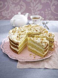 Einfach himmlisch: Weiße Schokoladen-Torte Cake & Co, Pie Cake, No Bake Cake, White Chocolate Cake, Chocolate Torte, German Cake, Best Cake Recipes, Cake Creations, Cakes And More