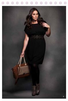 ELOQUIIS PLUS SIZE FASHION FALL LOOK BOOK | STYLISH CURVES