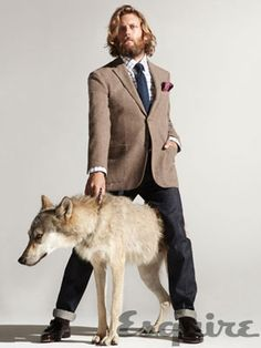 Mens Casual Fall Fashion 2011 - Casual Clothes for Men 2011 - Esquire. I love this pic for some reason.