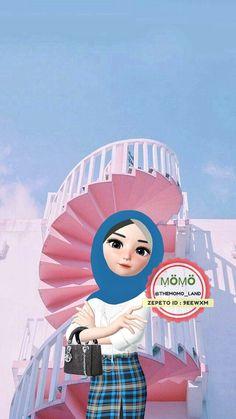 Hijab Gown, Islamic Cartoon, Anime Muslim, Hijab Cartoon, Cartoon Wallpaper, Cartoon Art, Cute Wallpapers, Anime Girls, Have Fun