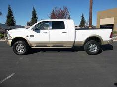 2013 RAM Ram Pickup 2500 4x4 Laramie Longhorn 4dr Mega Cab 6.3 ft. SB Pickup **FOR SALE** By Trucks N Toyz - 4670 Central Way Suite D Fairfield, CA