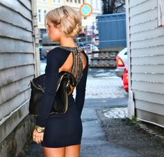the back of this dress - amazinggg