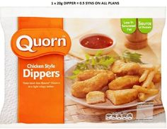 Quorn Crispy Chicken Style Nuggets These taste great cold, so will cook them at home and put them in packed lunches. Slimming World Snacks, Slimming World Syns, Quorn Recipes, Quorn Foods, Quorn Chicken, Crispy Chicken, Chicken Dippers, Syn Free Food, Yummy Food