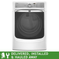 Costco washer maytag maxima xl 8000 series steam 43cuft washer dryer maytag maxima xl 74cuft electric steam dryer item 760685 fandeluxe Images