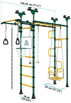 Indoor Play Structures for Kids! Would be cool to have in a basement for rainy days