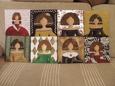 Prado, Gingerbread, Decoupage, Kids Rugs, Portraits, Decor, Hipster Baby Girls, Canvases, Mosaics