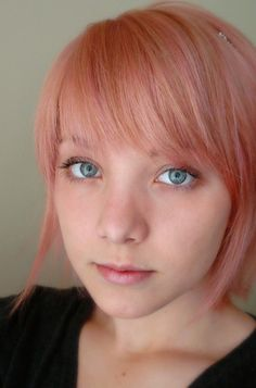 Pink hair by babytarragon, via Flickr