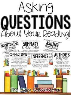 FREEBIE:  Asking Questions About Your Reading Posters