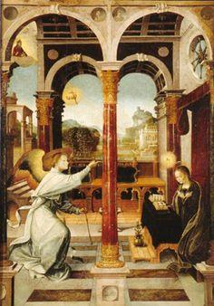 La Anunciación.