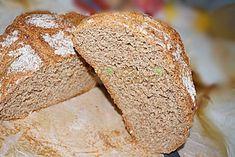 paine-neagra-de-casa-reteta-pofta-buna-cu-gina-bradea-3 Bread, Food, Brot, Essen, Baking, Meals, Breads, Buns, Yemek