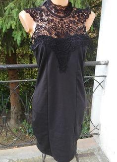Kup mój przedmiot na #vintedpl http://www.vinted.pl/damska-odziez/krotkie-sukienki/13845253-koronkowa-haftowana-sukienka-dopasowana-odkryte-plecy