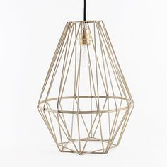 Shard Pendant Light Gold - ceiling lamp made of metal