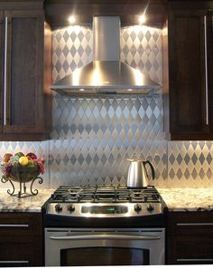 "Metallic Kitchen from Stainless Living at http://www.stainlessliving.com  For more design inspiration, subscribe to my blog: www.HouseSpiration.com and ""Like"" my Facebook page at www.facebook.com/writerkarenleblanc"