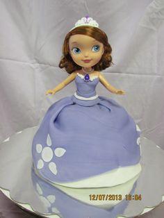 Hayden's Sofia the First Birthday cake.