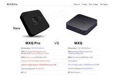 MXQ PRO Amlogic S905 1GB/8GB Gigabit LAN BT4.0 Quad Core Android 5.1 WiFi 2.4GH.265 HW Decoding KODI XBMC TV Box Android Mini PC Sale - Banggood.com