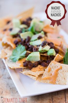 Gluten Free Nachos with GF Nacho Cheese Sauce-- Fave Superbowl Food