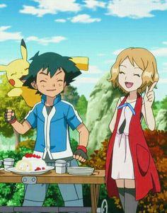 Sexy Pokemon, Ash Pokemon, Pokemon Fan, Pokemon Images, Pokemon Pictures, Satoshi Pokemon, Pokemon Kalos, Pokemon Ash And Serena, Ashes Love