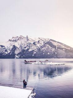 Lake Minnewanka,Alberta,Canada.