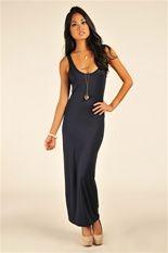 Beach Bum Maxi Dress - Navy