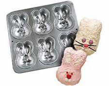 Wilton Mini Cakes Bunny Rabbit Pan Mold  6 Bunnies per Pan 21052013 -- Be sure to check out this awesome product.