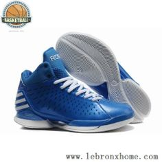 Derrick Rose Shoes Adidas AdiZero 3.0 Blue White Electricity