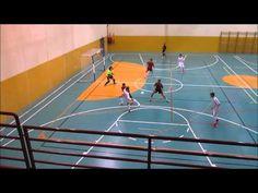 Partido de futbol sala cadete entre Rivas Futsal B y Oroquieta Espinillo