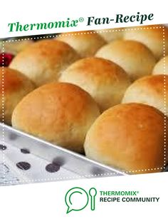 Recipe 60 minute lunch rolls by monicaih, learn to make this recipe easily in your kitchen machine and discover other Thermomix recipes in Breads & rolls. Recipe In Grams, Quick Bread Rolls, Thermomix Bread, Dog Biscuits, Recipe Community, Rolls Recipe, Buns, Yum Yum, Cooker