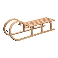 Slittino tradizionale in legno Colint 110cm