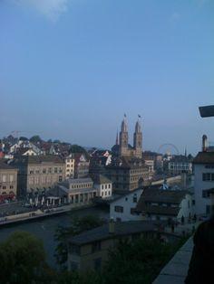Blick über die Stadt zum Dom