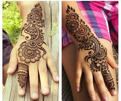 Simple yet elegant. Totally amazing henna patterns or Mehndi beauty then Click Visit link above for more options Pretty Henna Designs, Mehndi Designs For Kids, Mehndi Design Pictures, Beautiful Mehndi Design, Best Mehndi Designs, Henna Tattoo Designs, Bridal Mehndi Designs, Simple Mehndi Designs, Mehndi Images