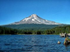 Trillium Lake Campground  |  Six Easy Camping Trips from Portland