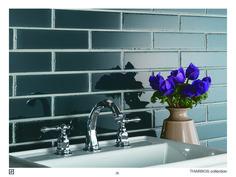 #cersaie2016 #ceramic #tile #wesport #silk #colour #reposegray #aqua #softcolours #madeinitaly #ravenna #ceramicasenio #senio #tharros #brick #earth #luna Repose Gray, Ceramics, Colours, Color, Home Decor, Brick