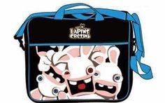 Goodies Les Lapins Crétins: Sac de transport pour PC portable Les Lapins Créti...