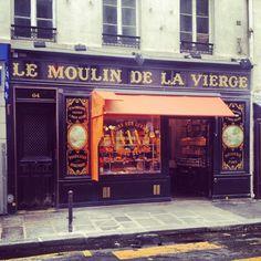 Beautiful bakery opposite Hotel Thoumieux...