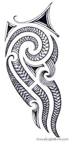 Resultado de imagem para tattoo maori epaule dessin