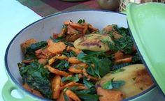Sweet Potatoes, Apples, and Braising Greens / Patrick Decker