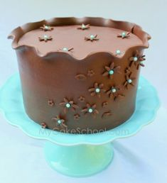 IMHow to Wrap a Cake with Modeling Chocolata-Video