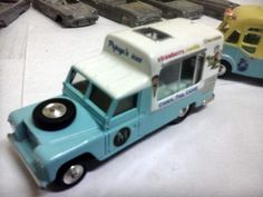 Ice Cream Van, Corgi Toys, Hot Wheels, Diecast, Cleaning, Cars, Rolling Carts, Military Vehicles, Scale Model Cars