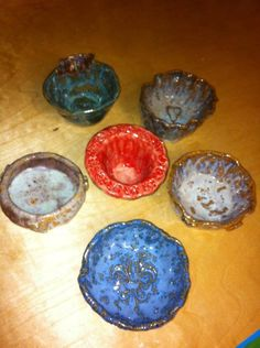 Pinch pot bowls