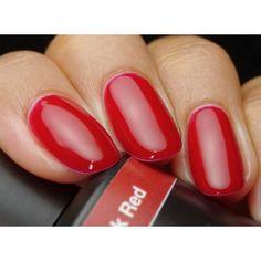 Get Pink Gellac 109 Lipstick Red gel nail polish colour at www.pinkgellac.co.uk