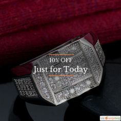 Today Only! 10% OFF this item.  Follow us on Pinterest to be the first to see our exciting Daily Deals. Today's Product: Men Sterling Silver CZ Diamond Ring Buy now: https://small.bz/AAX0KLq #musthave #loveit #instacool #shop #shopping #onlineshopping #instashop #instagood #instafollow #photooftheday #picoftheday #love #OTstores #smallbiz #sale #dailydeal #dealoftheday #todayonly #instadaily
